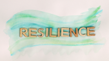 How can leaders demonstrate resilience?